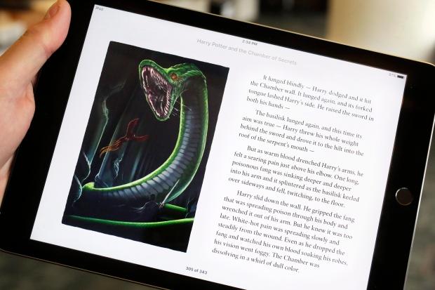 Harry Potter on iPad