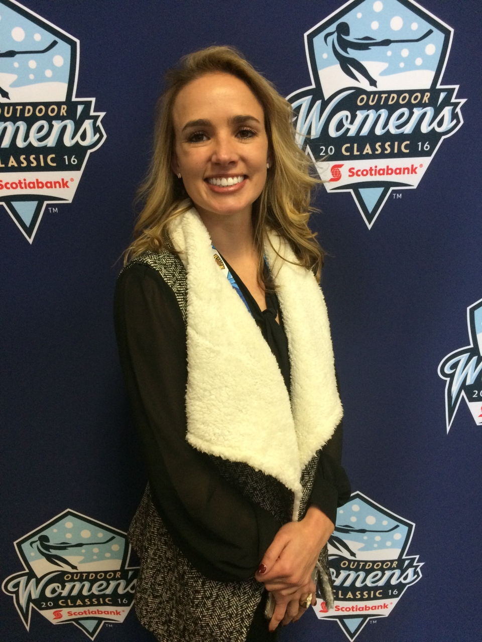 Dani Rylan is a former hockey player with the Northeastern Huskies women's ice hockey program. Rylan, together with Angela Ruggiero, launched the National Women's Hockey League in March 2015. (Photo: NWHL)