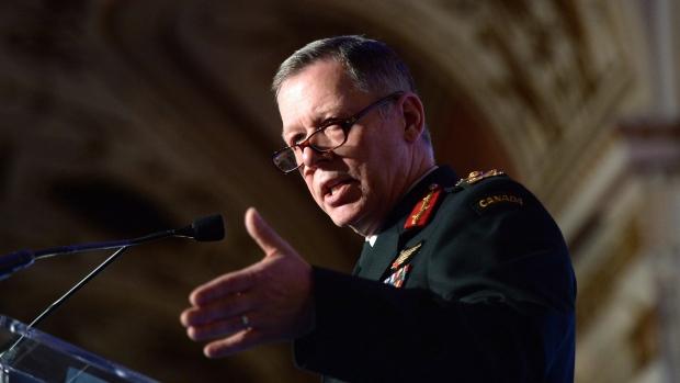 Chief of Defence Staff Gen. Jonathan Vance