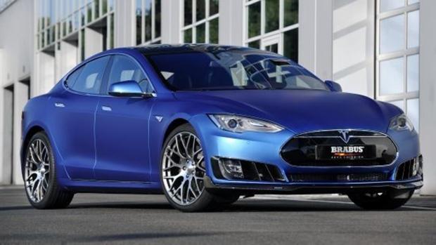 Brabus Zero Emission program for the Tesla Model