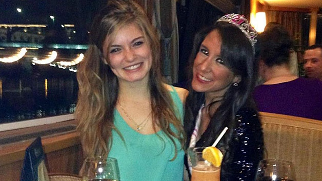 Victoria McGrath and Priscilla Perez Torres are shown in a photo posted to Facebook.