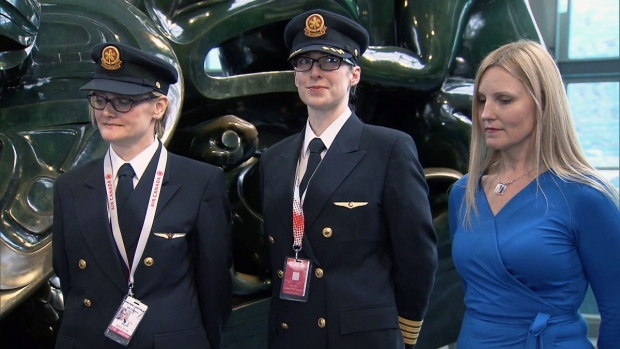 Flight crew and air traffic controller at YVR