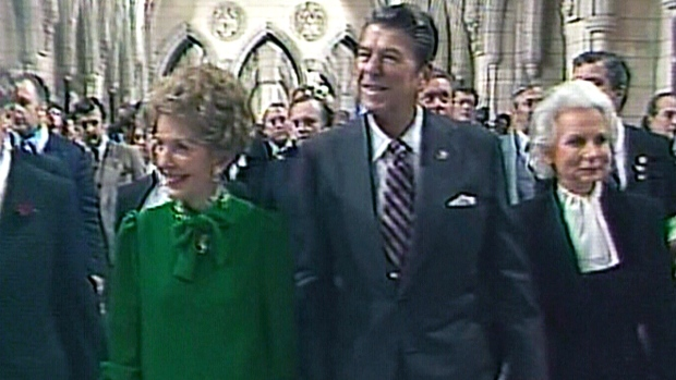 CTV News Archives: Ronald Reagan visits Canada