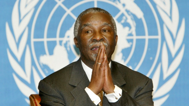 Thabo Mbeki at the UN in 2003