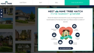 The Home Tribe Match app asks potential home buyers a series of questions before matching them up with what could be their perfect home. (hometribe.ca)