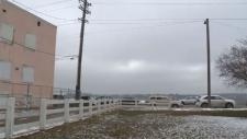 Proposed 'urban balcony' land in Edmonton
