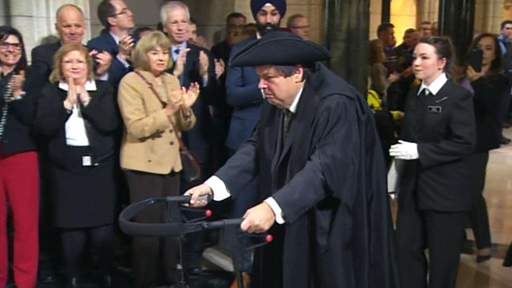 Liberal MP Mauril Belanger
