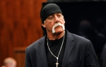 Hulk Hogan, whose given name is Terry Bollea, leaves the courtroom during a break Wednesday, March 9. 2016, in his trial against Gawker Media in St. Petersburg, Fla. (AP Photo/Steve Nesius)