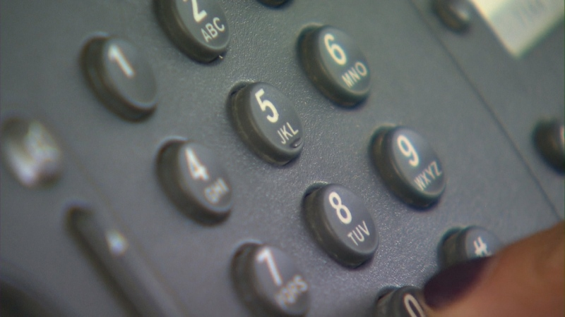 A telephone keypad is seen in an undated file image. (File)