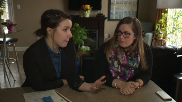 Amber Shute and Denise Ross say they post failed a standardized test for post-grad nurses twice.