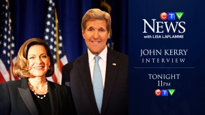 CTV News: John Kerry interview preview