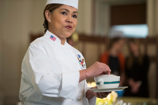 White House executive chef Cristeta Comerford