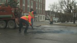 Montreal's new pothole plan