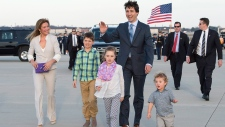Prime Minister Justin Trudeau in Washington