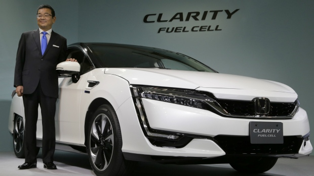 Honda unveils new fule cell vehicle