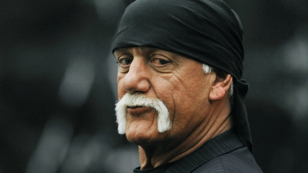 Hulk Hogan during break in court