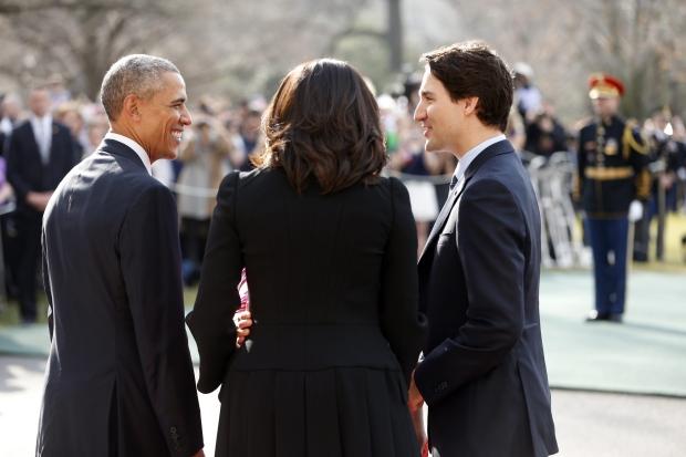 Trudeau and Obama