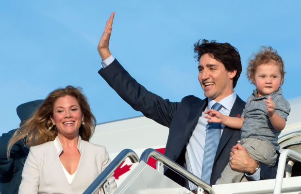 Trudeau arrives in Washington