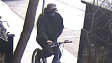 Suspect in street robbery