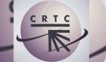 A CRTC logo is shown in Montreal on September 10, 2012. (Graham Hughes/The Canadian Press)