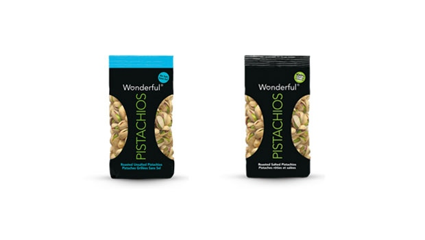 Wonderful brand pistachios