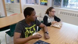 Free breakfast offered every day to students.