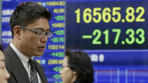Markets higher after central bank moves