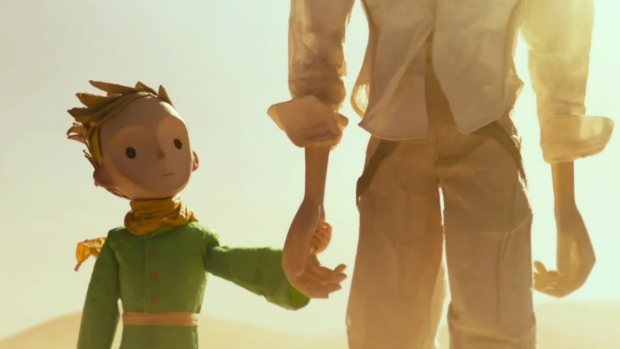 The Little Prince, voiced by Riley Osborne, is seen in 'The Little Prince'.