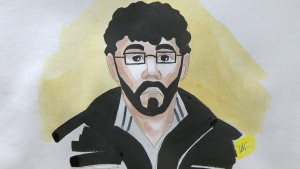 28-year-old Ismael Habib is charged charged with attempting to leave Canada to participate in the activities of a terrorist group.