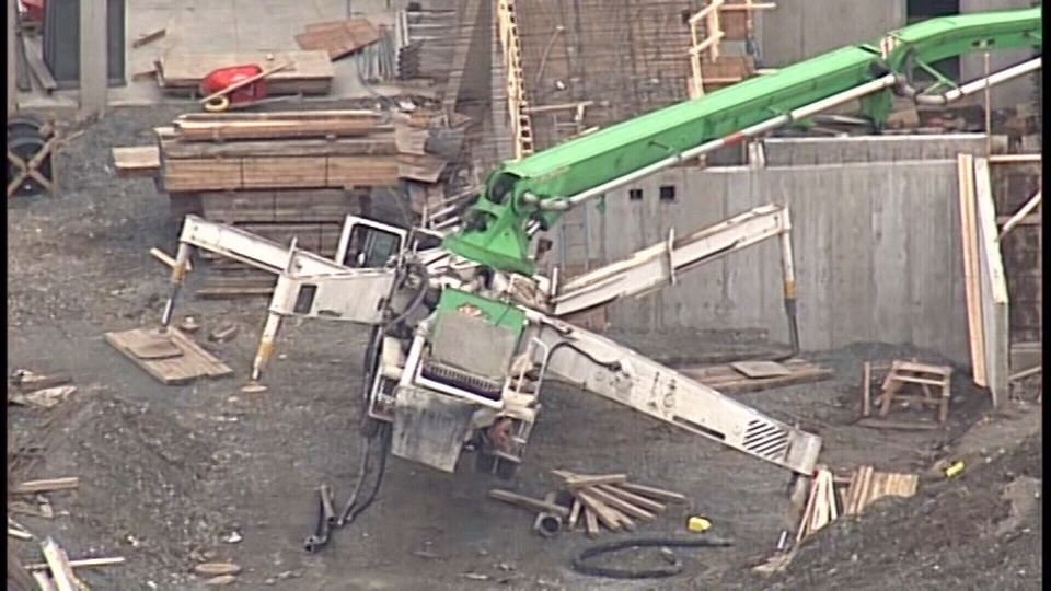 One dead, another rushed to hospital after construction site
