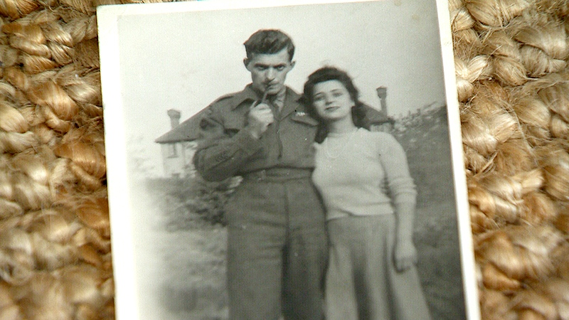 Harold Cameron and his wife Virginia met during the Second World War.