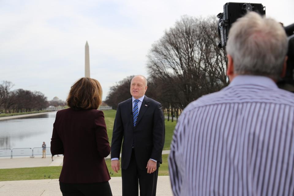 U.S. Ambassador to Canada Bruce Heyman speaks to CTV News' Chief Anchor and Senior Editor Lisa LaFlamme in Washington, D.C.