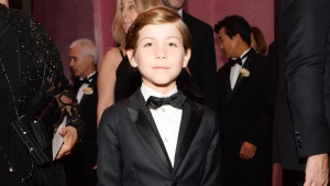 Jacob Tremblay attends the Governors Ball after the Oscars on Sunday, Feb. 28, 2016, at the Dolby Theatre in Los Angeles. (Photo by Al Powers/Invision/AP)