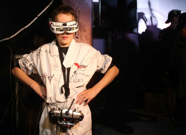 Luke Bannister, British drone pilot