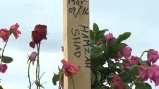 Hamzah Shad burial marker