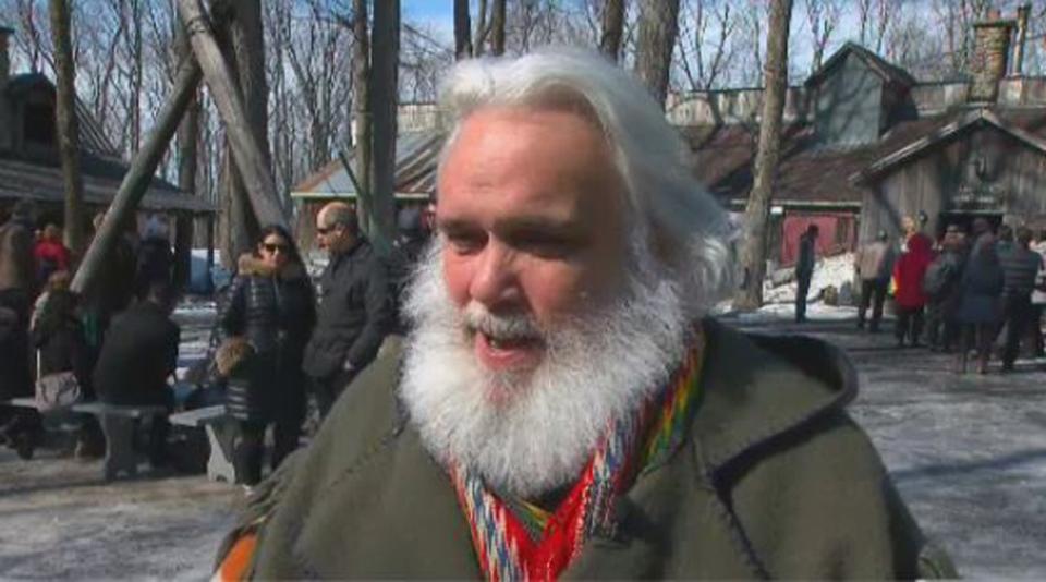 Pierre Faucher is owner of Sucrerie de la Montagne in Quebec.