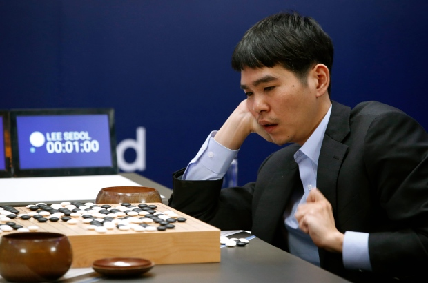 South Korean Go player Lee Sedol