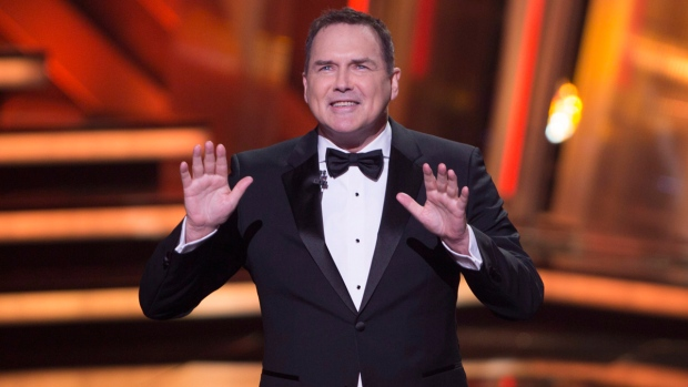 Norm Macdonald hosts the Canadian Screen Awards in Toronto on March 13, 2016. (Peter Power / THE CANADIAN PRESS)