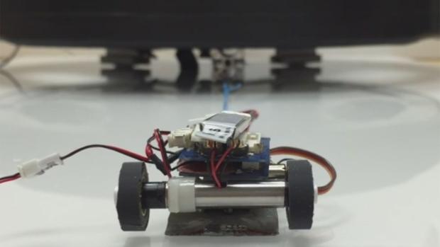 MicroTug robot
