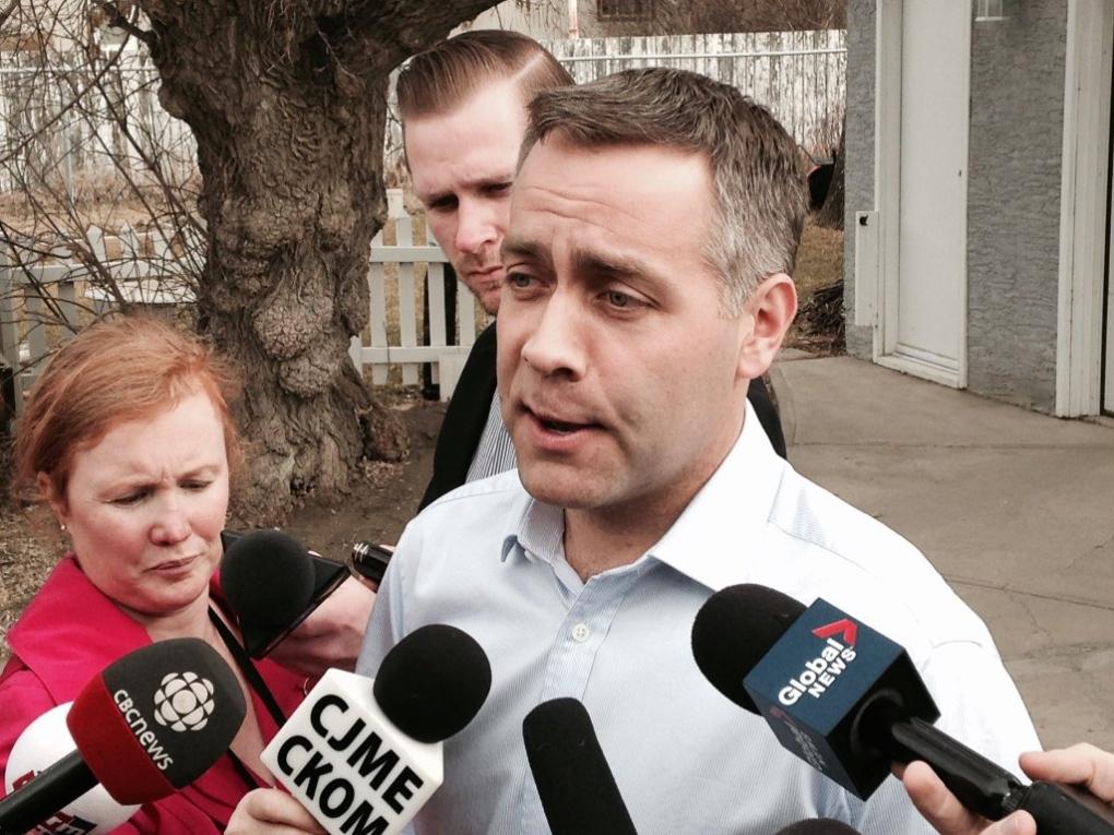 Saskatchewan NDP Leader Cam Broten