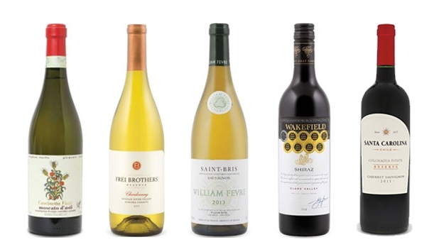 Wines of the Week - March 14, 2016