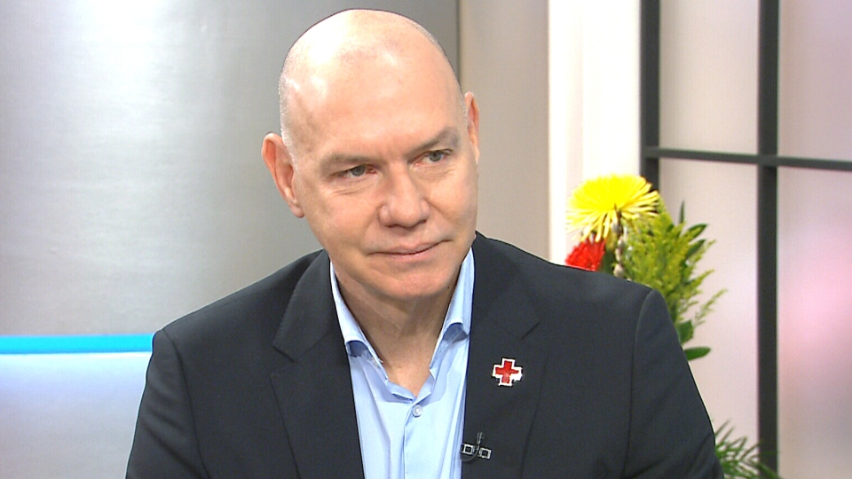 Canadian Red Cross CEO Conrad Sauve speaks on CTV's Canada AM on Tuesday, Mar. 15, 2016.