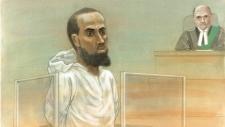 Ayanle Hassan Ali court sketch