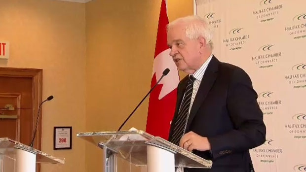 Federal Immigration Minister John McCallum speaks in Halifax on Tuesday, March 15, 2016.
