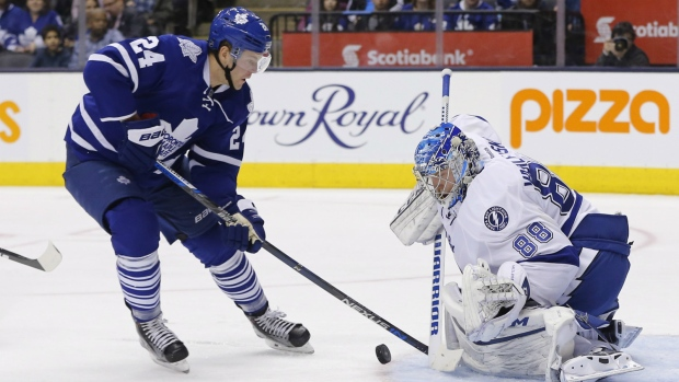 Maple Leafs beat Lightning in Toronto