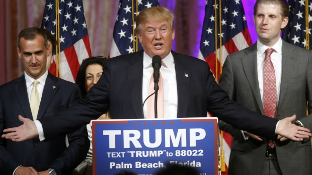 Donald Trump frontrunner for Republican nomination