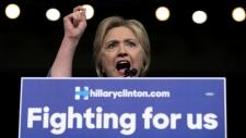 Hillary Clinton takes lead of Democrats nomination