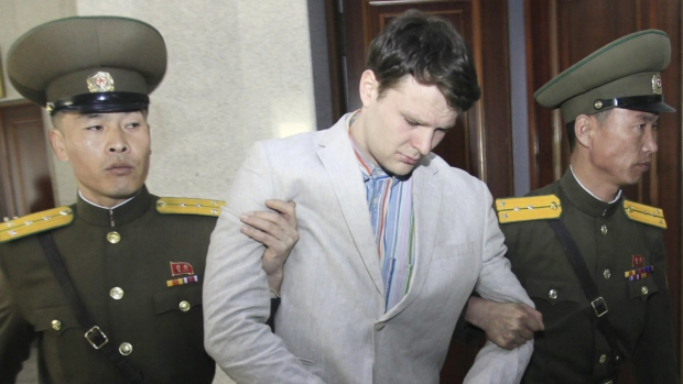 U.S. tourist given prison sentence in North Korea