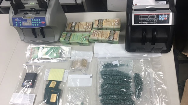 Police say information obtained during the investigation leads them to believe this drug operation may have shipped as many as 100,000 fentanyl tablets per month to Calgary.