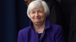 Federal Reserve Chair Janet Yellen arrives for a news conference in Washington, Wednesday, Dec. 16, 2015. (AP / Susan Walsh)